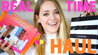 Download REAL-TIME Sephora HAUL! Fleur De Force Video