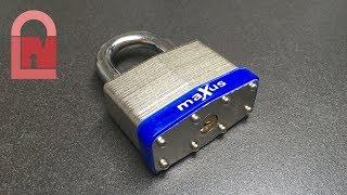 Download AWFUL MaXus MX58/60 Padlock Picked Video