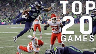 Download Top 20 NFL Games of the 2018 Season Video