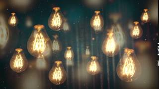 Download Best Backround Video - Moving Vintage Light Bulbs VIDEO BACKGROUND Video