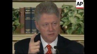 Download USA: Clinton Denies Having An Affair With Monica Lewinsky - 1998 Video