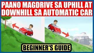 Download Paano MagDrive sa UPHILL at DOWNHILL sa AUTOMATIC Car Video