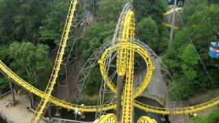 Download Loch Ness Monster Front Seat on-ride widescreen POV Busch Gardens Williamsburg Video