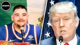 Download Andy Ruiz EPICALLY Demolishes Donald Trump Video