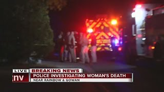 Download Police investigating woman's death in northwest Las Vegas Video