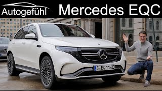 Download Mercedes EQC FULL REVIEW - how does it match Tesla X and Audi e-tron in driving? Video