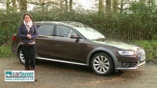 Download Audi A4 Allroad estate 2013 review - CarBuyer Video