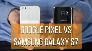 Download Google Pixel vs Samsung Galaxy S7 Video