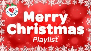 Download Merry Christmas Playlist | Best Christmas Carols & Popular Xmas Songs | 90 minutes Video
