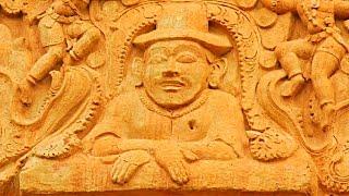 Download Ancient Indian Sculptures show International Connections - Brihadeeswarar Temple Video