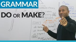 Download Learn English: MAKE or DO? Video