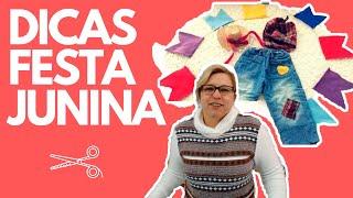 Download DIY: 4 IDEIAS PARA ENFEITAR ROUPAS E FESTA JUNINA DRICA TV Video