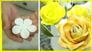 Download Rosas com cortador 5 pétalas Video