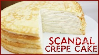 Download 20 LAYER CREPE CAKE from SCANDAL - DIY Video