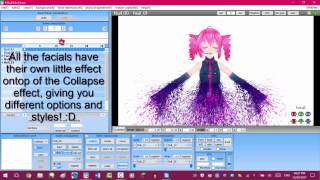 ♤MMD Tutorial♤ How to split texture/change only half of