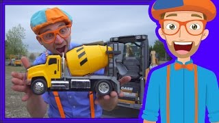 Download Learn Diggers for Children with Blippi | Videos for Toddlers Video
