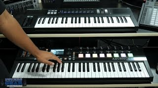 Download Comparison: Akai Advance vs Native Instruments Komplete Kontrol Keyboard Video
