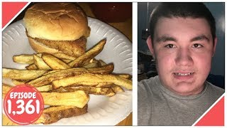 Download HAVING FISH AND FRIES YUM!! - September 08,2017 (Day 1,361) Video