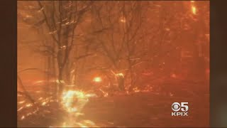 Download Cascade Fire Closes In On Two Roommates Near Yuba City Video