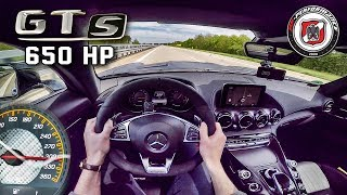 Download Mercedes AMG GT S 650 HP AUTOBAHN POV 309 km/h PP Performance by AutoTopNL Video