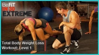 Download Total Body Weight Loss Workout Level 1 (Calisthenics) | BeFit in 30 Extreme Video