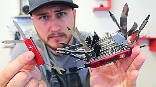 Download World's Biggest Swiss Army Pocket Knife Video