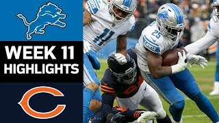 Download Lions vs. Bears | NFL Week 11 Game Highlights Video