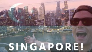 Download FIRST TIME IN SINGAPORE 🇸🇬 ″HOLY F*CKN S#*T!″ ..VLOG!! 😝 [2016 Singapore Travel & Food Tour HD] Video