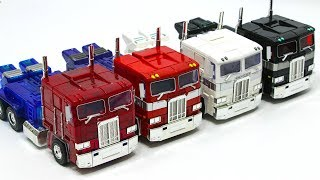 Download Transformers G1 Oversized MPP-10 CLEAR RED BLACK WHITE Optimus Prime Truck Vehicle Car Robot Toys Video