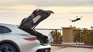 Download Porsche Mission E Autonomous DRONE DEMO Video Porsche Mission E Cross Turismo Geneva 2018 CARJAM Video