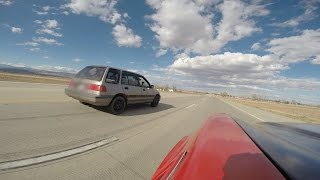 Download SLEEPER Turbo Civic Wagon Vs Camaro Video