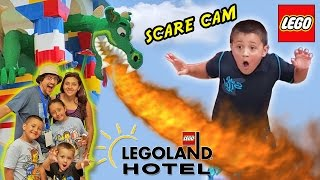 Download LEGOLAND HOTEL Grand Opening in Florida + DRAGON SCARE CAM! (Best Day Ever w/ Amusement Park Fun!) Video