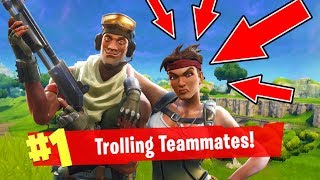 Download Fortnite Funny Moments: Trolling Random Teammates! (Fortnite Battle Royale) Video