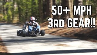 Download 200cc Shifter Kart FIRST RIDE Video