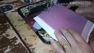 Download طرز بخيط الشعرة بمكينة سانجار السوداء Video