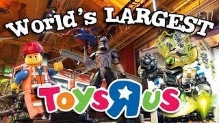 Download World's LARGEST TOYS ″R″ US! Behind-the-scenes in New York - Time's Square! Video