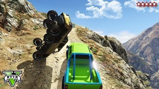 Download GTA 5 OFF-ROADING & ROCK CRAWLING! - CUSTOM 4X4 Trucks GTA 5 - Grand Theft Auto 5 Funny Moments Video