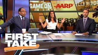 Download Stephen A. and Max get heated over Cowboys | First Take | ESPN Video