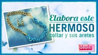 Download Cómo hacer un collar turquesa dorado Kit 23326 Video