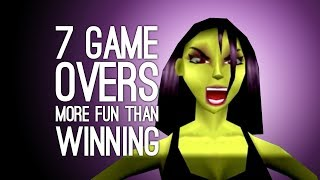 Download 7 Times a Game Over was More Fun than Winning (Does This Make Us Bad People?) Video