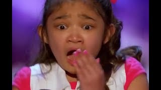 Download Little Girl ″SHOCKED & Starts to CRY″ after She Gets...   America's Got Talent Video