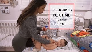 Download A DAY IN THE LIFE OF A SINGLE MOM | Sick Toddler Routine vlog Video
