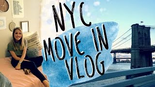 Download NEW YORK CITY MOVE IN VLOG | College Move in Vlog 2016! Video