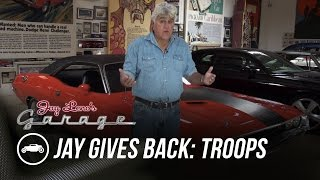 Download Jay Gives Back to Our Troops - Jay Leno's Garage Video
