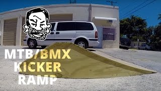 Download How to build a kicker ramp for BMX or MTB Video