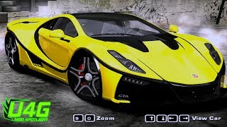 Download Various GTA Spano Need For Speed Most Wanted 2005 Car Mods Video