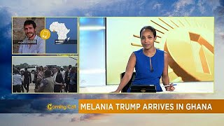 Download Melania Trump in Ghana in first Africa tour [The Morning Call] Video
