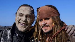 Download Behind The Scenes on Pirates of the Caribbean 5 - Movie B-Roll & Bloopers - Johnny Depp Video