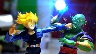 Download Dragon ball Z Stop Motion - Piccolo VS Trunks 七龍珠-比克VS特南克斯 Video