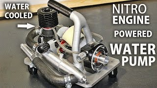 Download Nitro Engine Powered Water Pump Video